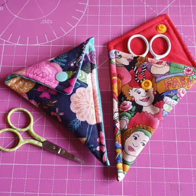 How to make a scissor keeper – SEWING TUTORIAL & PATTERN