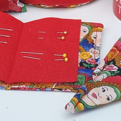 How to sew your own simple needle book