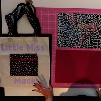 Pimp up your tote sewing tutorial – Zip pouch and handle switch out